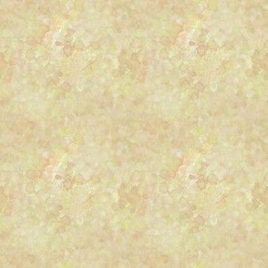 Gold Cream Watercolor Abstract