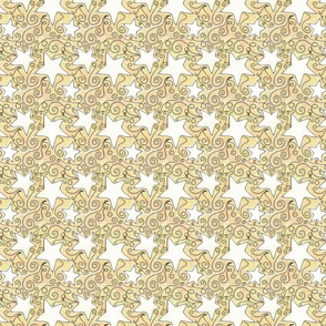 Project 96 | Stars | White on Gold