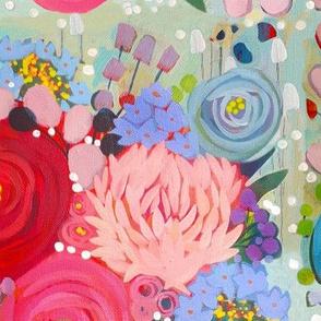 Painted Garden- Spring Bouquet Burst