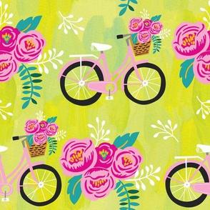 Painted Garden- Summertime Bikes