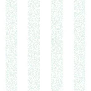 small ammonite stripes - mint on white