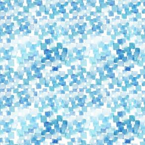 light blue watercolor pattern