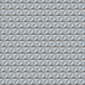 Geodesic Dome - Silver - Tiny