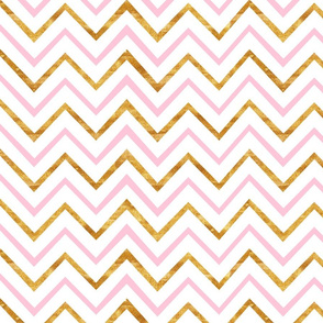 geometric gold pattern