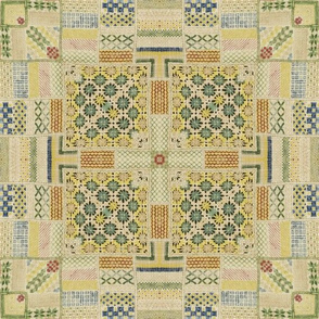 18th Century Mexican Quilt
