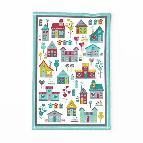 The Heart of Home (Tea Towel) (Spice)