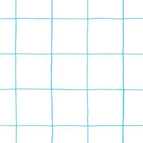 Light blue watercolor grid 2""