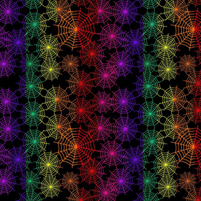 Spider Web Rainbow