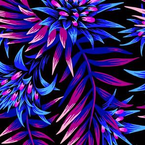 Fasciata Tropical - Dark Blue Purple  - LARGE SCALE