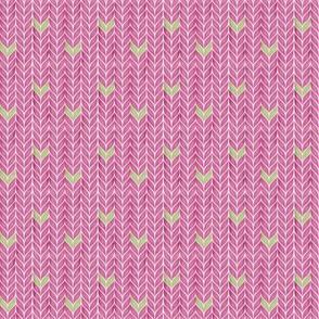 Knit tight - pink