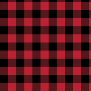 buffalo plaid || the happy camper collection