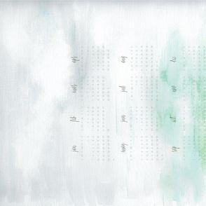 Painted Landscape Tea Towel 2020