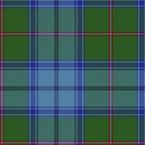 "Maine original tartan, 6"" modern colors"
