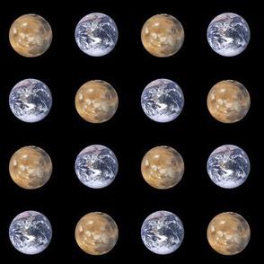 "1.5"" earth and mars polkadot"