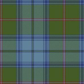"""Maine original tartan, 6"""" antique colors"""