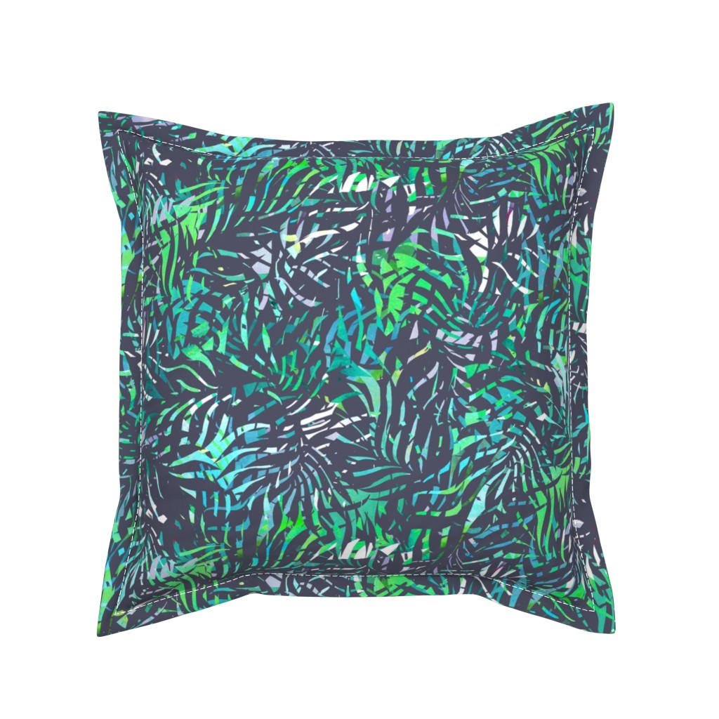 Serama Throw Pillow featuring NightintheJungle by susanna_nousiainen