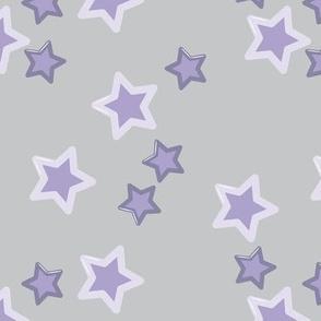 Baby Dino stars purple