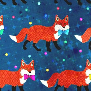 Scandinavian Fox Woodland Party