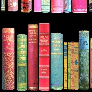 Antique Books // Vintage Bookshelf/ victorian