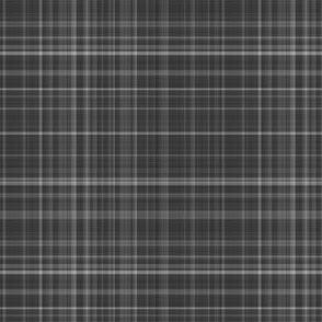 Charcoal Gray Plaid