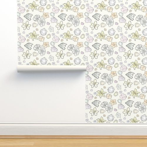 April Showers And May Flowers Spoonflower