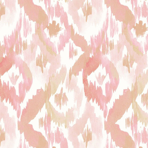 Ikat diamonds Blush