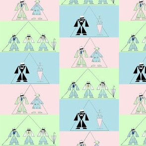 Jazz Age in Triangles