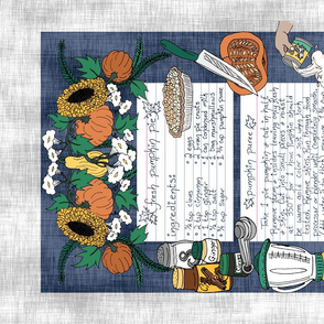 Pumpkin Pie Towel