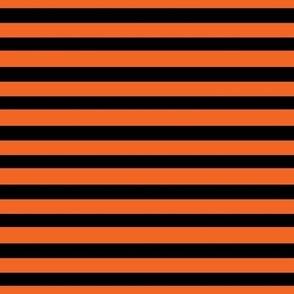 Halloween Stripes - Orange and Black