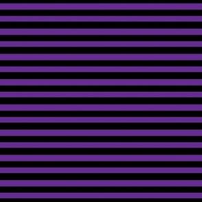 Halloween Stripes - purple and black
