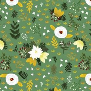 Merry Fields - Green