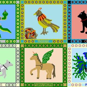 Animals Imagining They Are Imaginary Animals