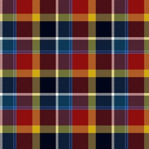 "Maryland tartan I - 3"", flag colors"