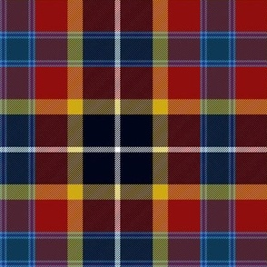 "Maryland tartan 2 - 6"", flag colors"