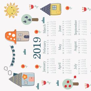 Home Sweet Home 2019 Calendar