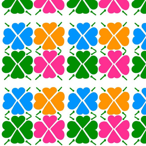 Bright Colored Clovers