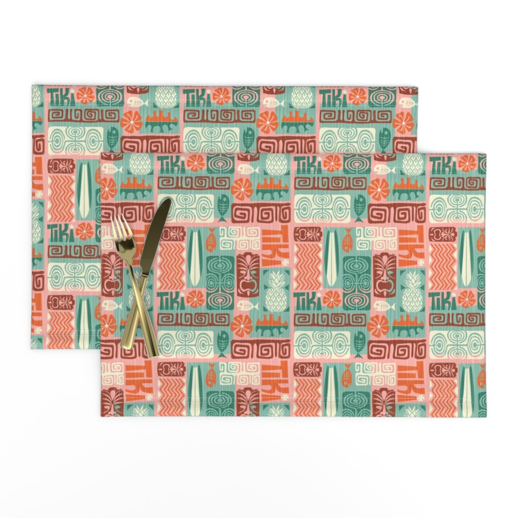 Lamona Cloth Placemats featuring Bats In The Belfry by pinkpineappledesign