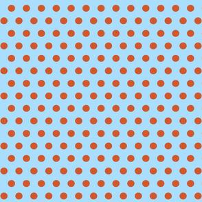 151. Going Dotty Blue Orange