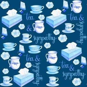 Tea and Sympathy on Blue