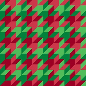 harlequin houndstooth - Christmas candy