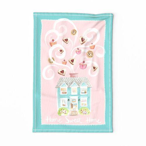 Home Sweet Home - Tea Towel