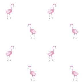 Small Pink Flamingos