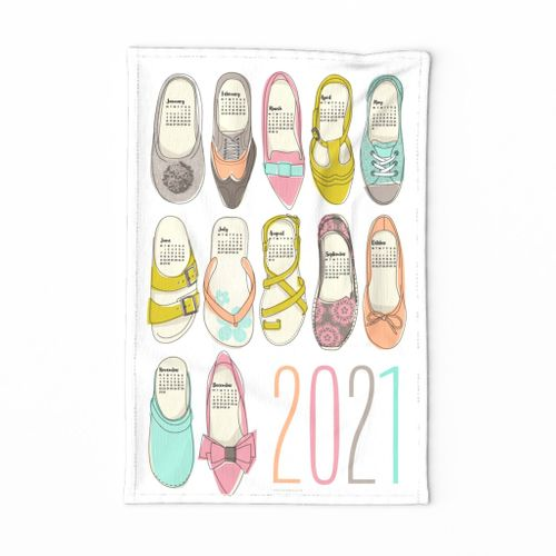 2020 (ENGLISH) Shoe Goals calendar