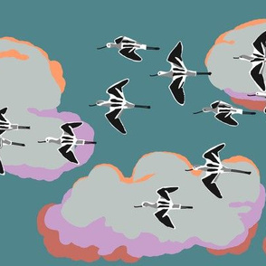 colony of avocets 1