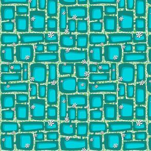 Mod Century Tiki Bricks 001