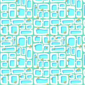 Mod Century Tiki Bricks 005