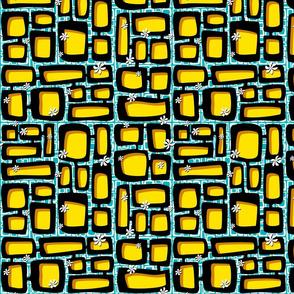 Mod Century Tiki Bricks 009