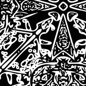 Wrought iron lace