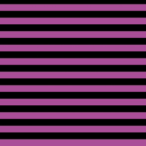 Stripes Black & Magenta