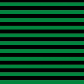 Stripes Black & Green